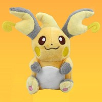"6"" Raichu Pokemon Plush"