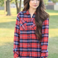 Into The Woods Flannel