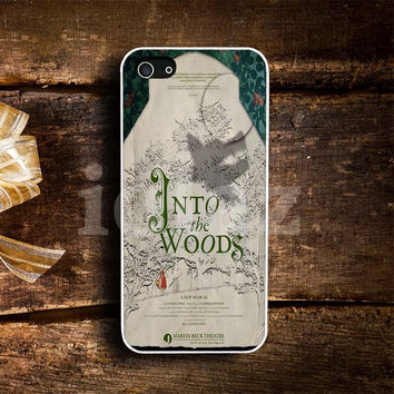 Into The Woods Musical Design mobile Phone case