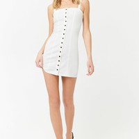 Seamed Mini Dress