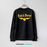 Snitch Please Shirt Harry Potter Sweatshirt Sweater Unisex