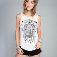 Hamsa Dreamcatcher Tank | Wet Seal
