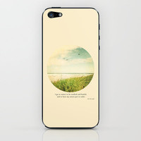 I go to nature iPhone & iPod Skin by Sylvia Cook Photography