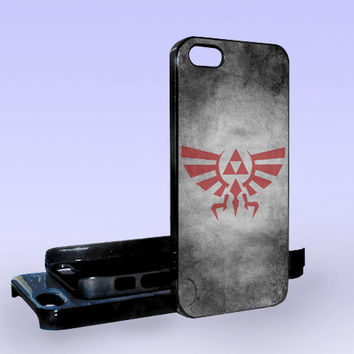 Triforce Inspired - Print on Hard Cover - iPhone 5 Case - iPhone 4/4s Case - Samsung Galaxy S3 case - Samsung Galaxy S4 case