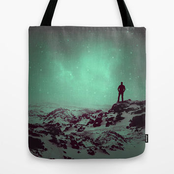 Lost the Moon While Counting Stars II Tote Bag by Soaring Anchor Designs