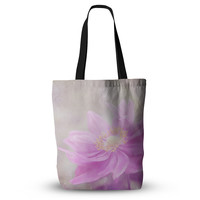 "Iris Lehnhardt ""Wind Flower"" Pink Floral Everything Tote Bag"