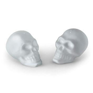 Spooky Skulls Salt & Pepper Shaker Set