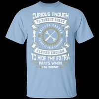 Mechanic Curious Enough T-Shirt