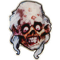 Cannibal Corpse Butcher Pewter Pin Badge - Pin Badges - Accessories - Rockabilia
