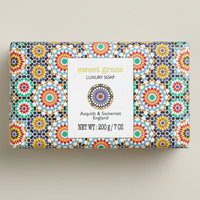 Asquith and Somerset Sweet Grass Mosaic Bar Soap - World Market