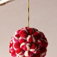 Felted Cranberry Ornament by Anthropologie Red One