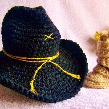 Military, Newborn Photo Prop, Army, Baby Hat, Combat Boots, Military Boots, Army Boots, Stetson Hat, Outfit