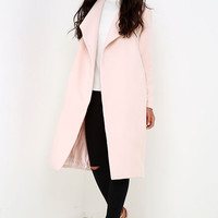 What Dreams Are Made Of Blush Coat