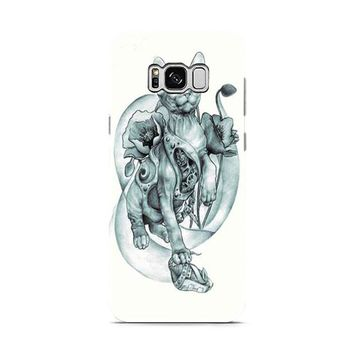 steampunk tattoo cat Samsung Galaxy S8 | Galaxy S8 Plus case