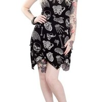 See Through Me X-Ray Dress :: VampireFreaks Store :: Gothic Clothing, Cyber-goth, punk, metal, alternative, rave, freak fashions