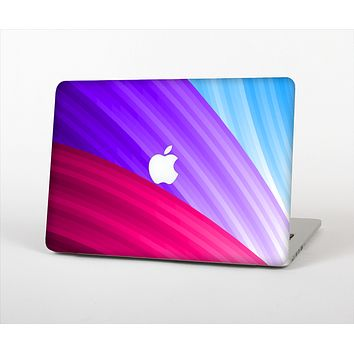 The Radiant Color-Swirls Skin Set for the Apple MacBook Pro 15""
