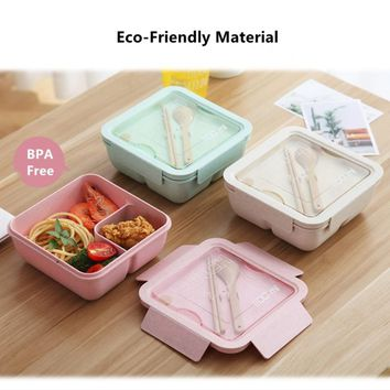 Eco Frendly Lunch Box Large Capacity Healthy Material