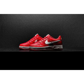 AA QIYIF Nike Air Force 1 (GS) - University Red/White