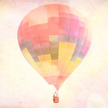 Nursery Photography, Kids Room, Hot Air Balloons, Playroom Photography, 8x10 OR 11X14 fine art print, Children's Decor, Cheerful, Whimsical