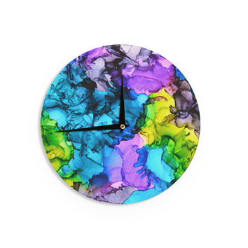 """Claire Day """"Mermaids"""" Blue Paint Wall Clock"""