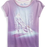 Girl's Mighty Fine 'Disney's Cinderella - Wish Dream Believe' Tee,