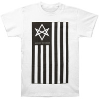 Bring Me The Horizon Men's  Antivist T-shirt White Rockabilia
