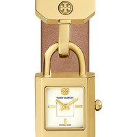 Tory Burch 'Surrey' Leather Strap Watch, 22mm x 24mm | Nordstrom