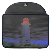Peggy's Cove Lighthouse Route Nova Scotia MacBook Pro Sleeves