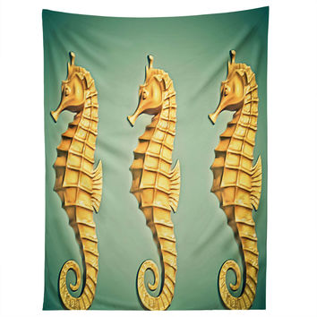Shannon Clark Seahorse Tapestry