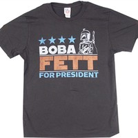 Boba Fett for President T-Shirt by Junk Food |Vintage Movie Shirt