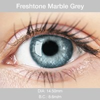 Marble Grey Colored Contacts