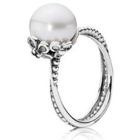 Authentic Pandora Jewelry - Garden Odyssey Pearl Ring