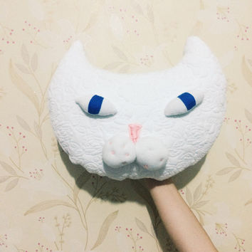 Cat Pillow, CAT Cushion, Cat Head, Cat decor, decorative pillow, Comfort Cushion, Cat plush, Cat Stuffed Animal