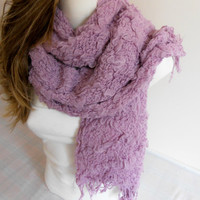 Lilac scarf, shawl Lilac, Lavender fluffy scarf, flower women, Valentine's gifts, Women's Fashion, Flower wrap, Color Shawl, Scarf Lavender