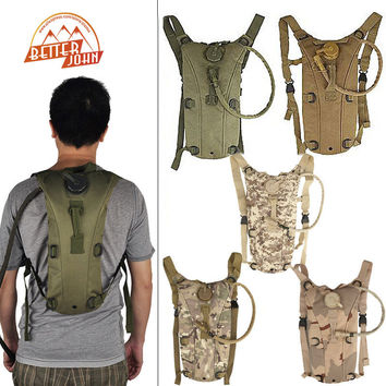 2.5L TPU Tactical Hydration Water Backpack Bag Outdoor