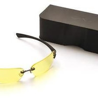 Pyramex DV30 Yellow Tinted w/Anti-Reflection Safety Glasses Eyewear ANSI Z80.3