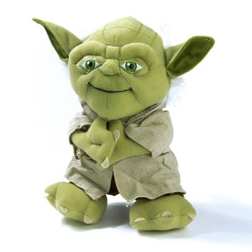 Star Wars Master Yoda Plush Toy Star Wars Yoda Figure Toy 21cm Cute Mini Yoda Stuffed Toy Doll For Birthday Christmas Gift