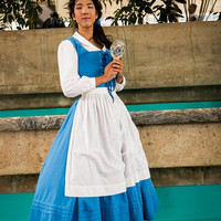 Belle Village Dress/Peasant Dress by AllenGale on Etsy