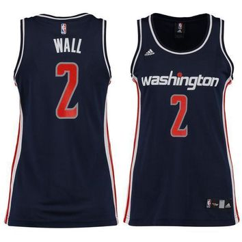 Men's Washington Wizards John Wall Nike White Swingman Jersey - Association Edition