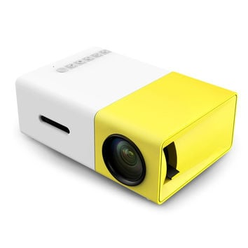 Mini LCD Projector 400 - 600 Lumens 3.5mm Audio/HDMI/USB/SD Inputs