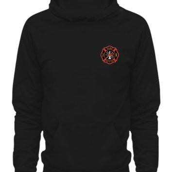 Firefighter first in last out firefighterhoodie
