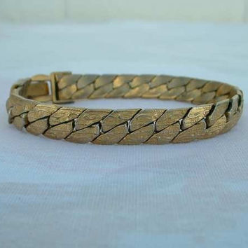 TRIFARI Flexible Herringbone Small Bracelet Designer Vintage Jewelry