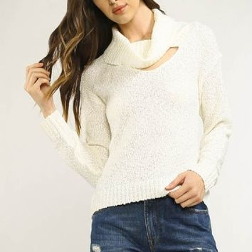 Bright Lights Cowlneck Sweater - FINAL SALE