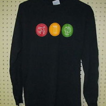 Vintage BLINK 182 take off your pants and jacket long sleeve t shirt MENS MEDIUM