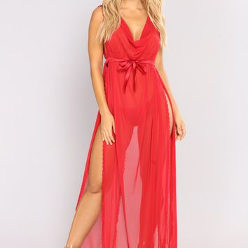 Love Me Forever Gown - Red