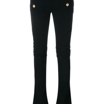CREYONJF Balmain Flared Sailor Jeans - Farfetch