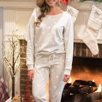 Christmas Wishes Pajama Set | Monday Dress Boutique