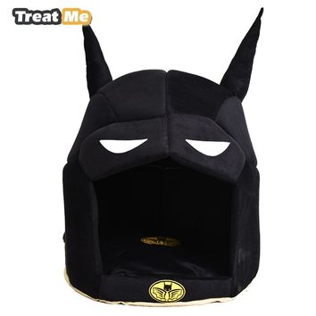 Batman Dark Knight gift Christmas Funny Batman Warmer Dog Bed All Seasons Available Pet House Soft and Comfortable Dog Beds For Small Dogs AT_71_6