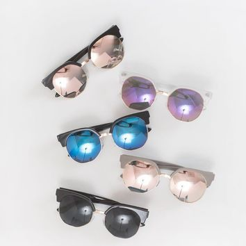 Jess Brow Line Sunglasses