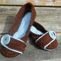 Bedroom Slippers - Women's Sizes US Sizes - Made to Order - Give Foot Length if You Don't Know Size